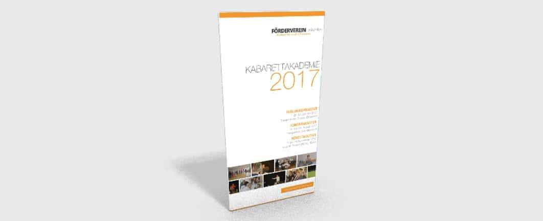 Programm der Kabarettakademie 2017 ist online